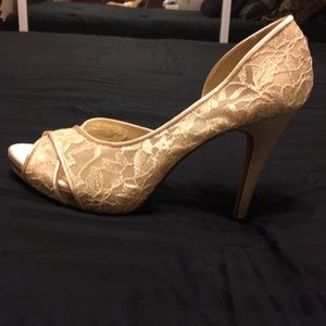Lulu Townsend Champagne Wedding Shoes